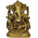 Ganesha Brass Idol