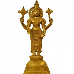 Standing Balaji Brass Statue