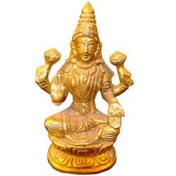 Mahalakshmi Brass Idol