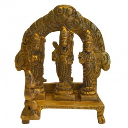 Ram, Lakshman, Seeta & Hanuman Brass Statue