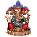 Coral Blessing Ganesha