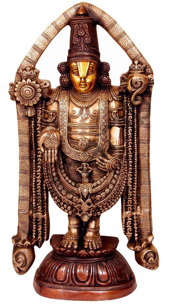 Balaji / Venkateshwara Brass Statue