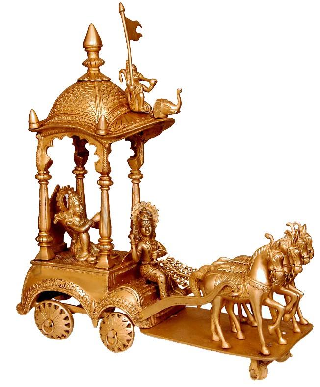 Krishna,Arjuna Ratha