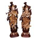 Radha Krishna Brass Idol