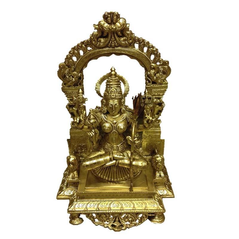 Rajarajeshwari Bronze Idol