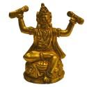 Bhaktha Hanuman brass idols for festival decor