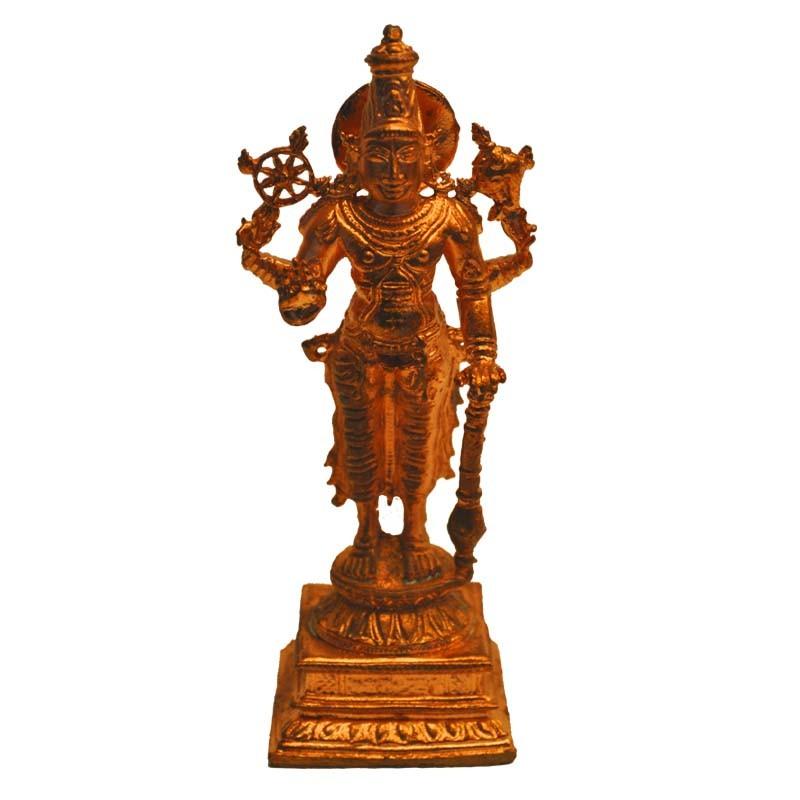 Copper Vishnu