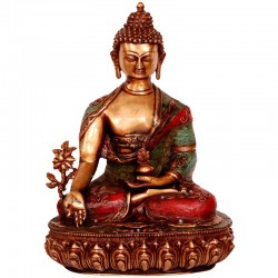 Meditating Budha Dual Colour