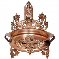 Lord Srinivasa Brass Urli