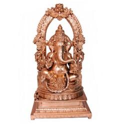 Ganesha Blessing on Peeta Prabhavali