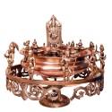 Revolving Venkateshwara with Dashavatara Urli