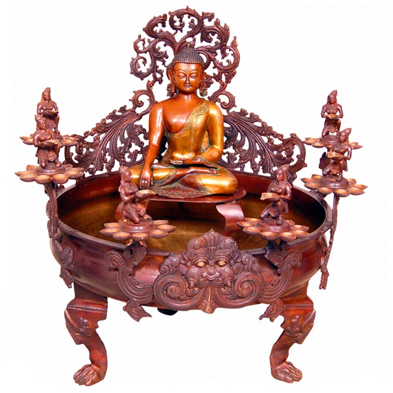 Meditating Buddha Urli