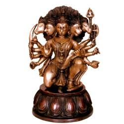 Blessing Panchamukhi Hanuman