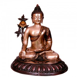 Dual Colour Buddha Meditating