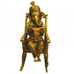 Ganesha on Rocking Chair