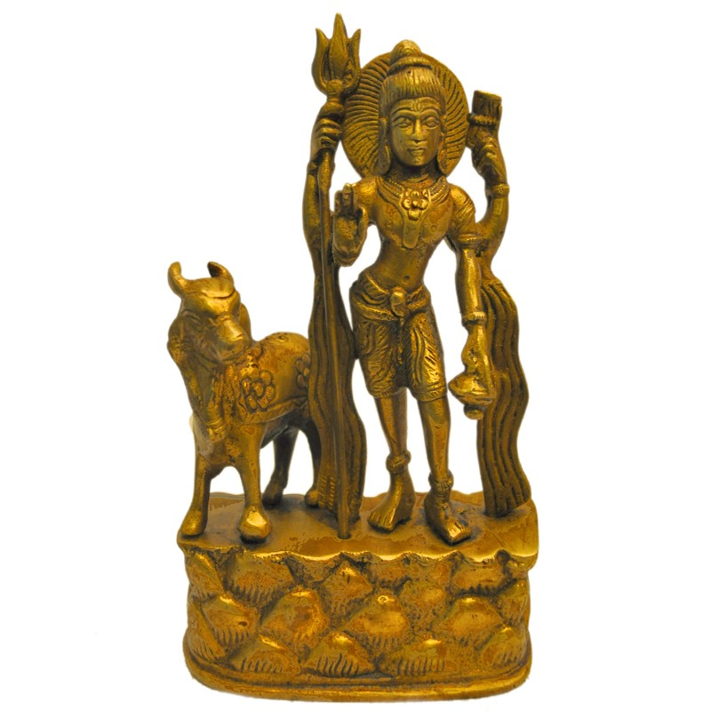 Shiva with Cow