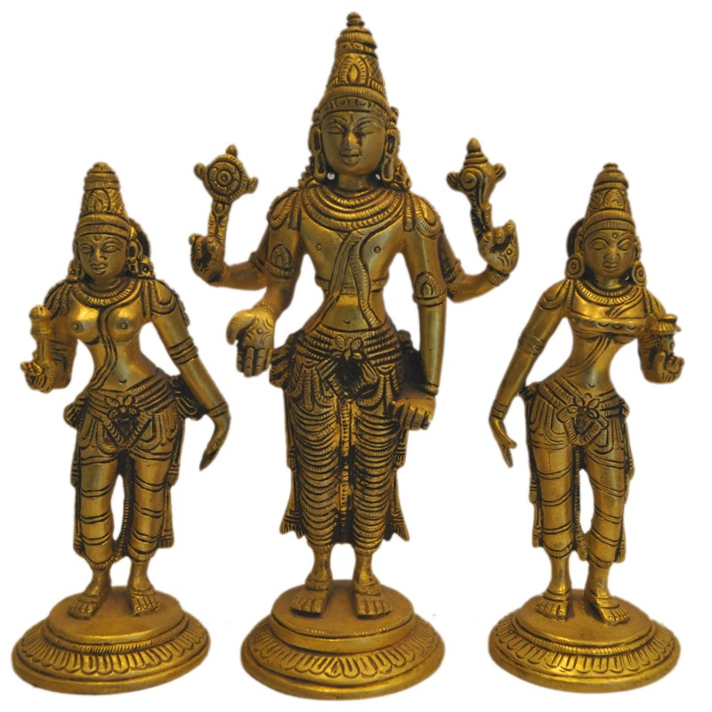 Sreenivasa, Sridhevi, Bhudevi
