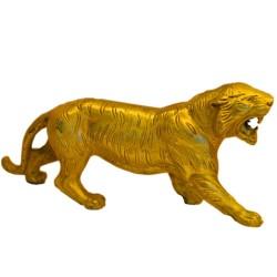 Tiger Brass Statue