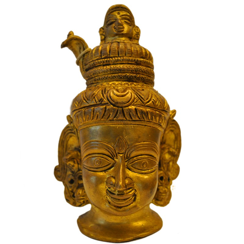 Shiva Bust with Gange