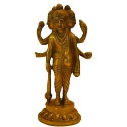 Dattatreya Brass statue