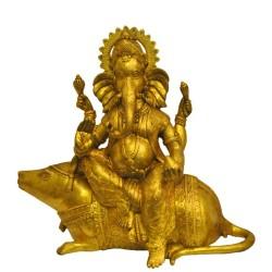 Ganesha Sitting on Mouse