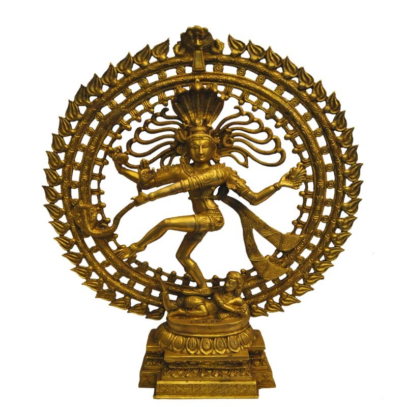 Natarja Brass Statue