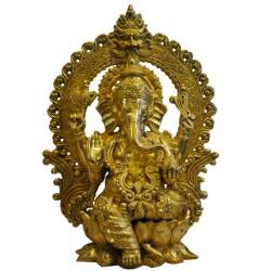 Blessing Ganesha on Peeta