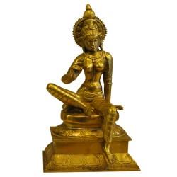 Sitting Lady Statue