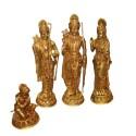 Shri Ram Blessing brass darbar idols