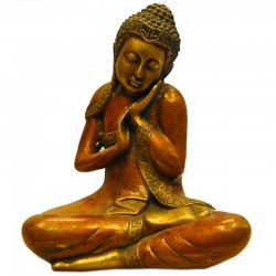 Two Toned Buddha Thinking