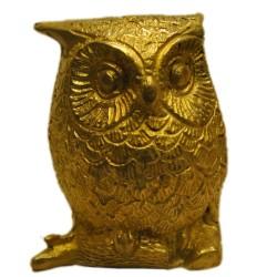 Owl Brass Idol