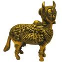 Kamadhenu Brass Statue