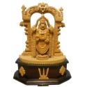 Balaji Wooden Statue