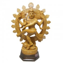 Nataraja Wooden Statue