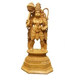Hanuman Wooden Idol