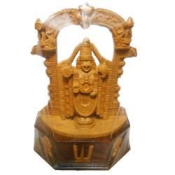 Balaji Wooden Idol