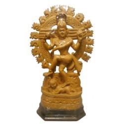 Lord Natya Nataraja Wooden Statue