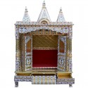 Brass Coated Puja Mandapam
