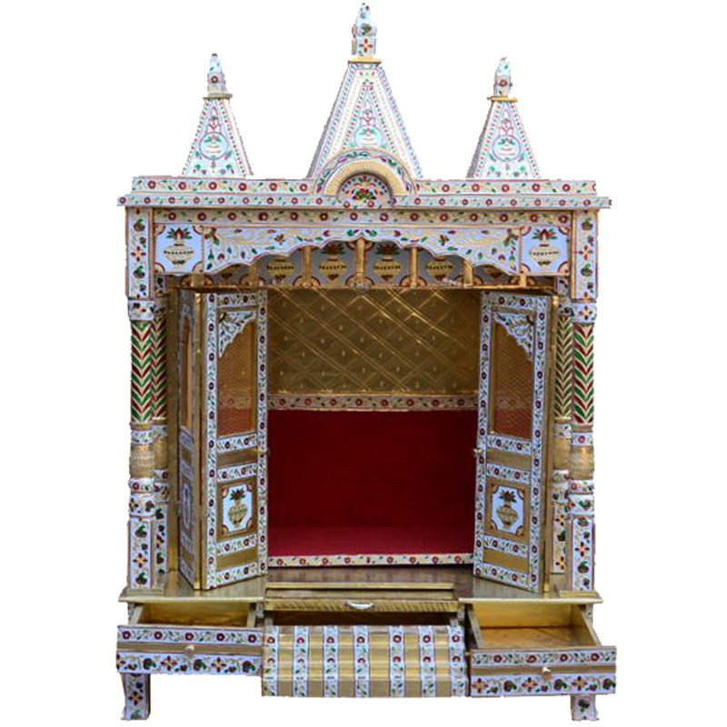 Brass Coated Puja Mantap