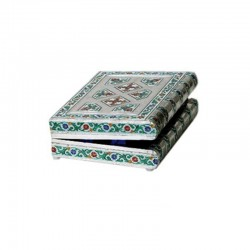 Blue Color Designed Bangle Box