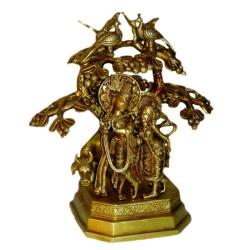 Radha Krishna Under Tree