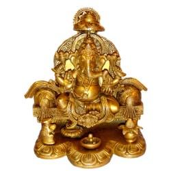 Ganesha Blessing On Royal Sofa