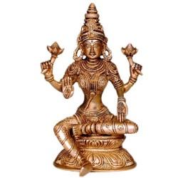 Rajarajeshwari Brass Idol