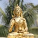 Buddha brass statue online in Vitarka Mudra