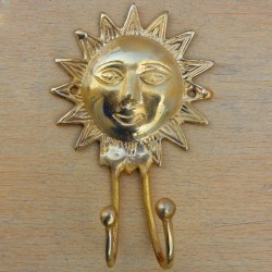 Shinny Sun Key Holder