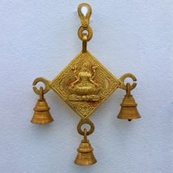 Sarawathi Wall hanging with Bells