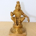 Sabarimala Ayyappa Swamy brass idol