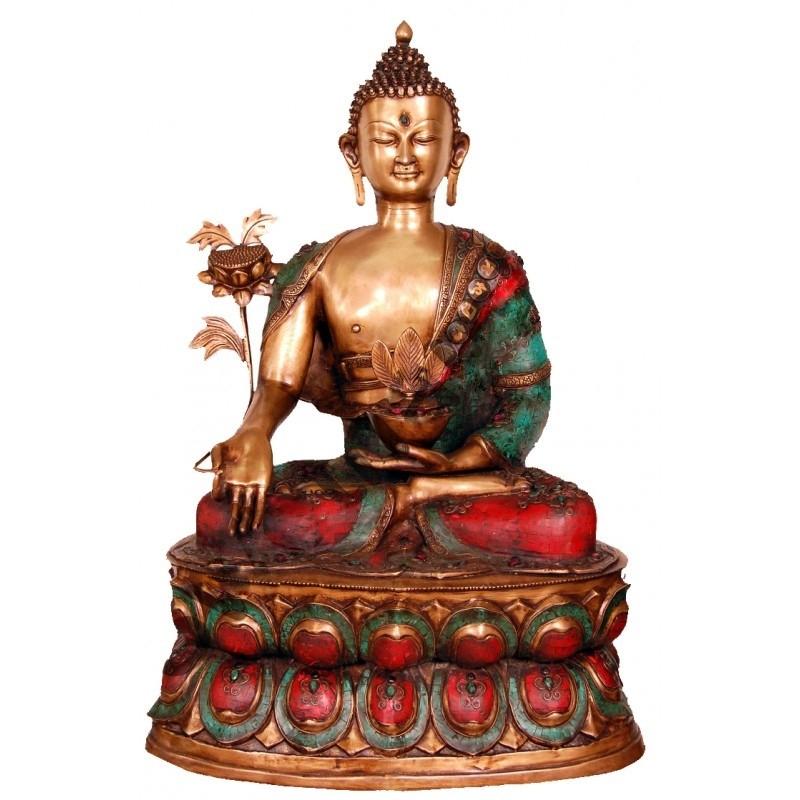 Meditating Coral Buddha