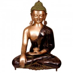 Two Tone Coloured Buddha