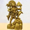 Hanuman carrying Mountain Pure Brass Statues online